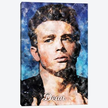 Dean II Watercolor Canvas Print #DUR876} by Durro Art Canvas Art Print