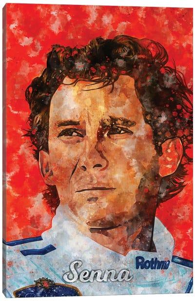 Senna Watercolor Canvas Art Print