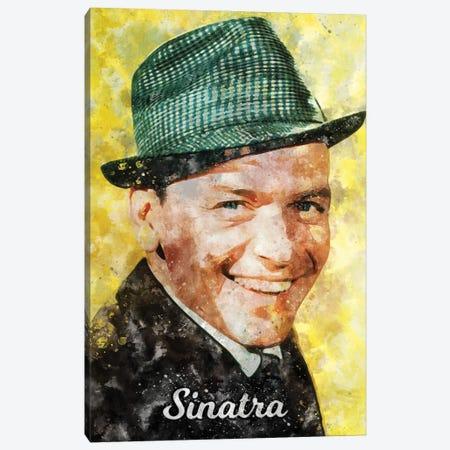 Sinatra Watercolor Canvas Print #DUR892} by Durro Art Canvas Art