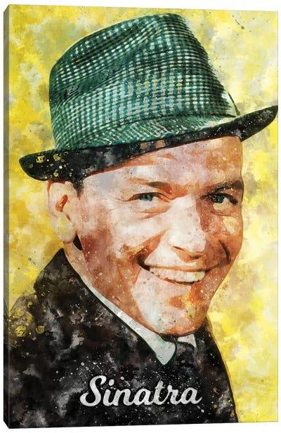 Sinatra Watercolor Canvas Art Print