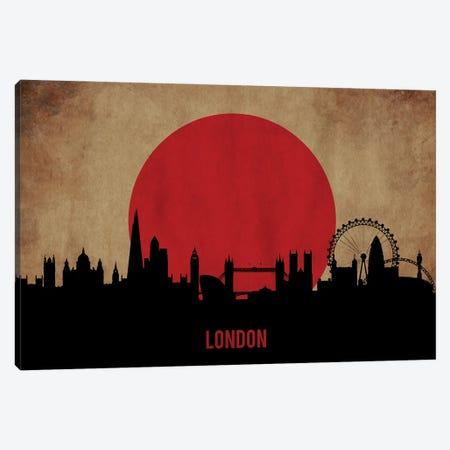 London Skyline Canvas Print #DUR900} by Durro Art Canvas Art
