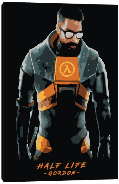 Half Life Gordon Canvas Art Print