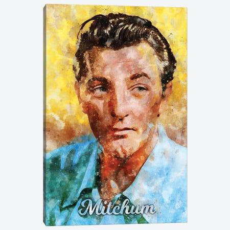 Mitchum Watercolor Canvas Print #DUR911} by Durro Art Canvas Art Print