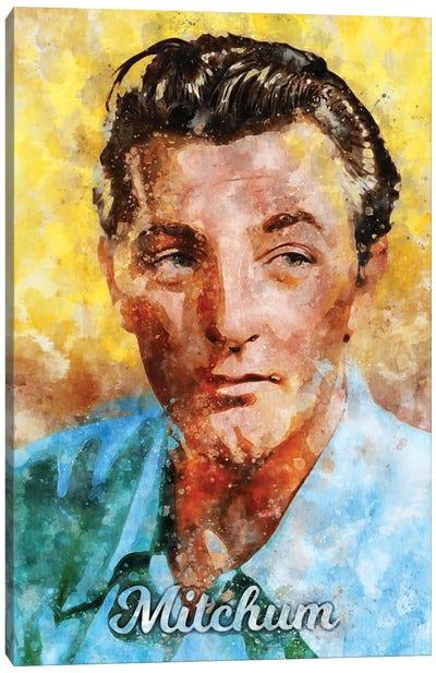 Mitchum Watercolor Canvas Art Print