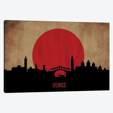 Venice Skyline Canvas Print #DUR920} by Durro Art Canvas Wall Art