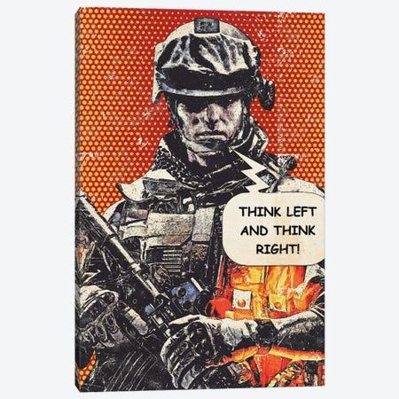 Battlefield Popart Canvas Print #DUR934} by Durro Art Canvas Artwork