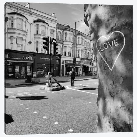 Lockdown Love Canvas Print #DUS35} by Amadeus Long Canvas Art Print