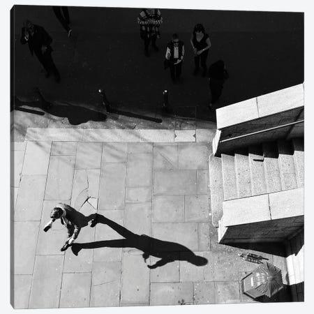 Shadow Games Canvas Print #DUS52} by Amadeus Long Canvas Artwork