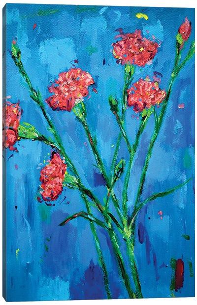 Carnations Canvas Art Print