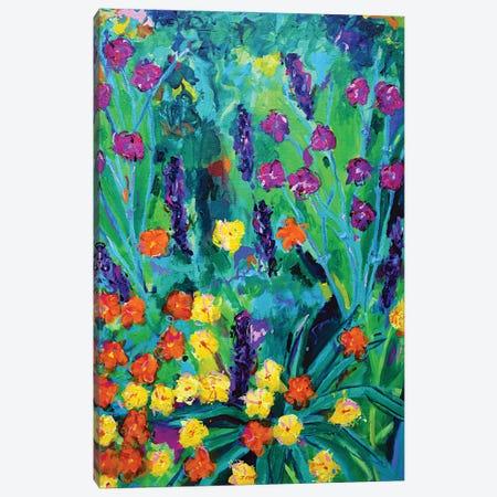 Flowers On Hampstead Heath Canvas Print #DUW15} by Dawn Underwood Art Print