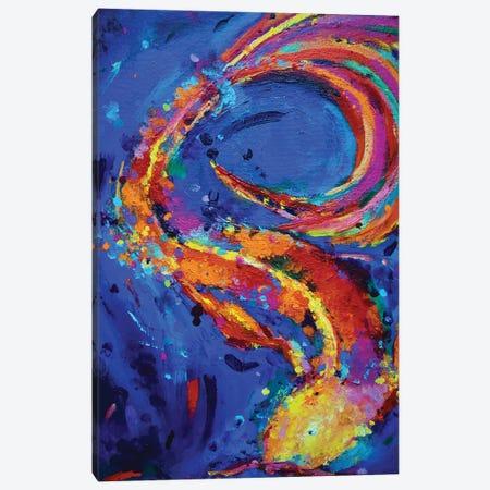 Koi Canvas Print #DUW18} by Dawn Underwood Canvas Wall Art