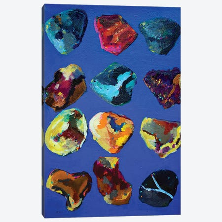 Pebbles Canvas Print #DUW25} by Dawn Underwood Canvas Art