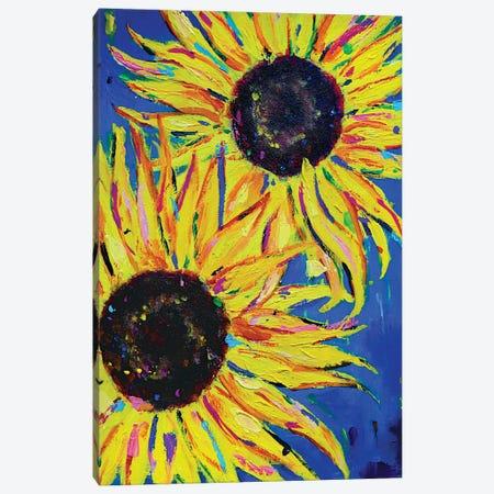 Sunflowers Canvas Print #DUW35} by Dawn Underwood Art Print