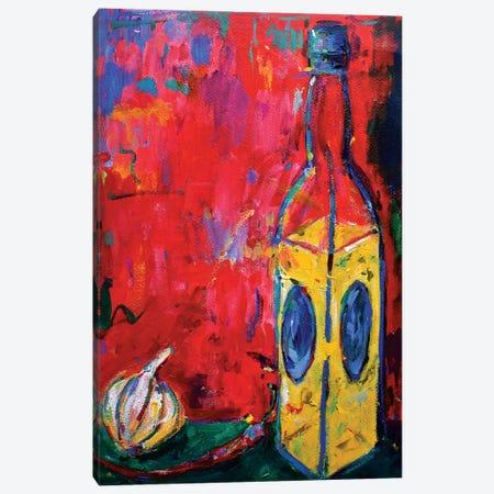Garlic, Chili And Oil Canvas Print #DUW48} by Dawn Underwood Canvas Art Print