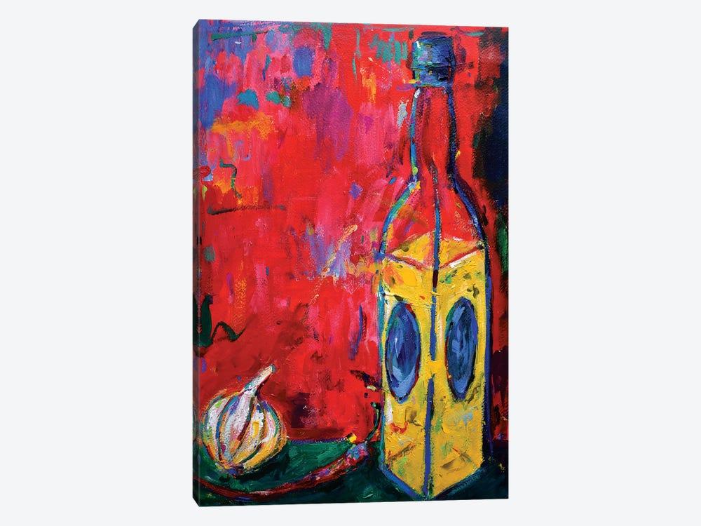Garlic, Chili And Oil by Dawn Underwood 1-piece Art Print