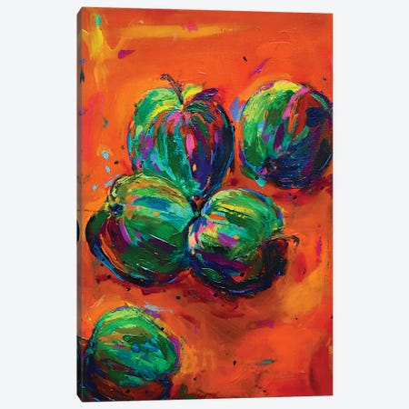 Apples Canvas Print #DUW4} by Dawn Underwood Canvas Art