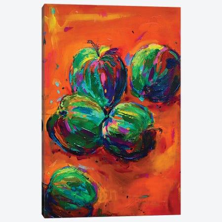 Apples Canvas Print #DUW4} by Dawn Underwood Canvas Art