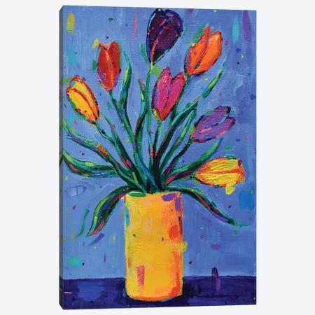 Tulips Canvas Print #DUW50} by Dawn Underwood Canvas Wall Art