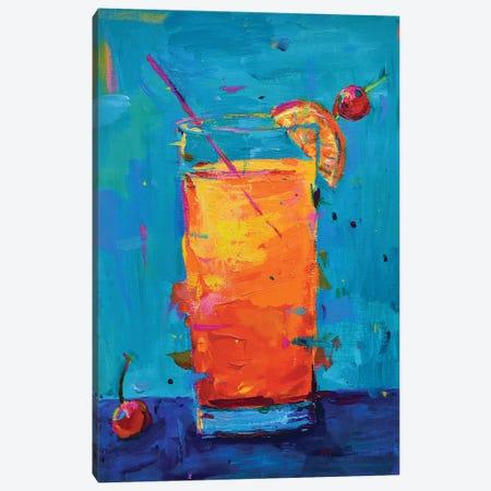 Tequila Sunrise Canvas Print #DUW56} by Dawn Underwood Art Print