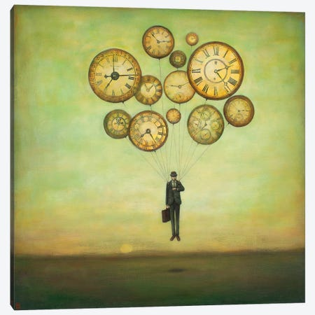 Waiting for Time to Fly Canvas Print #DUY10} by Duy Huynh Canvas Artwork