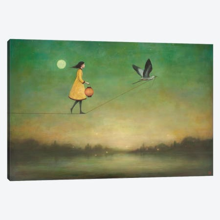 Blue Moon Expedition Canvas Print #DUY1} by Duy Huynh Canvas Print