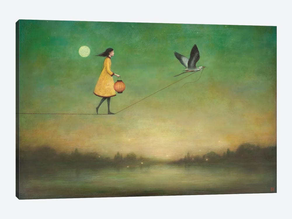 Blue Moon Expedition by Duy Huynh 1-piece Canvas Art
