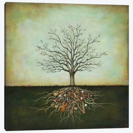Strung Together Canvas Print #DUY3} by Duy Huynh Canvas Art Print