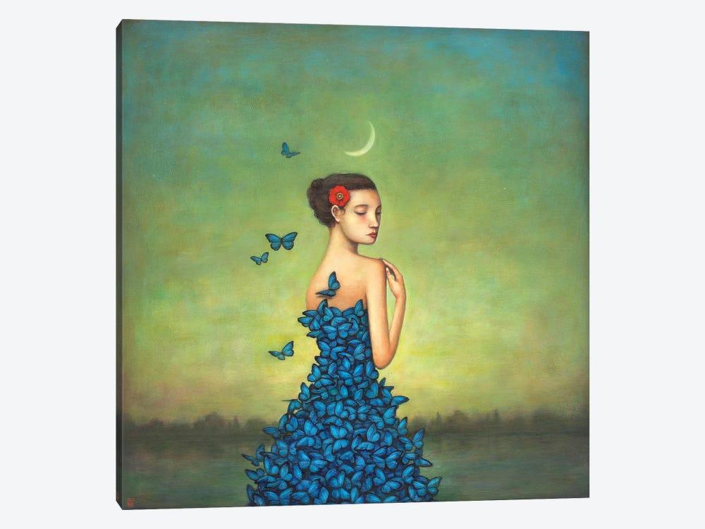 Metamorphosis In Blue by Duy Huynh 1-piece Art Print