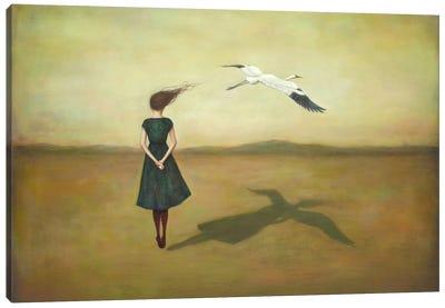Eggscapism Canvas Art Print