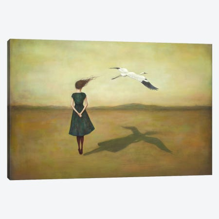 Eggscapism Canvas Print #DUY7} by Duy Huynh Canvas Artwork