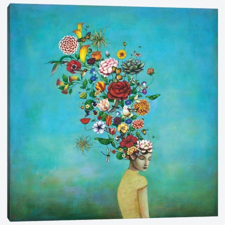 A Mindful Garden Canvas Print #DUY8} by Duy Huynh Canvas Print