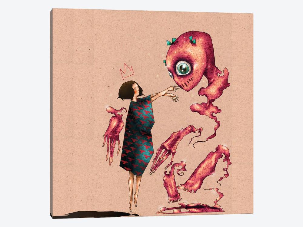 Conjuring A Best Friend by DEMÖ 1-piece Art Print
