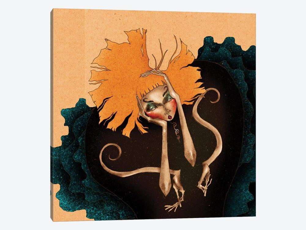 Daisy´s Frustration by DEMÖ 1-piece Canvas Art