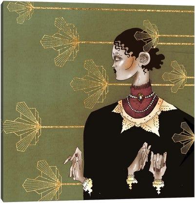 Gertrude´s Golden Garden Canvas Art Print