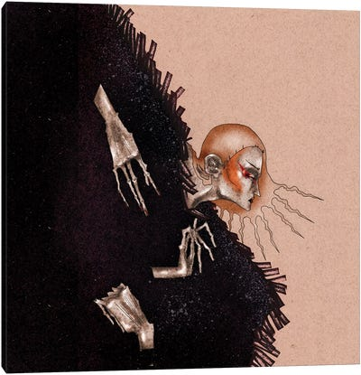 Harpie Canvas Art Print