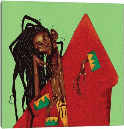 Jamaican Canvas Art Print