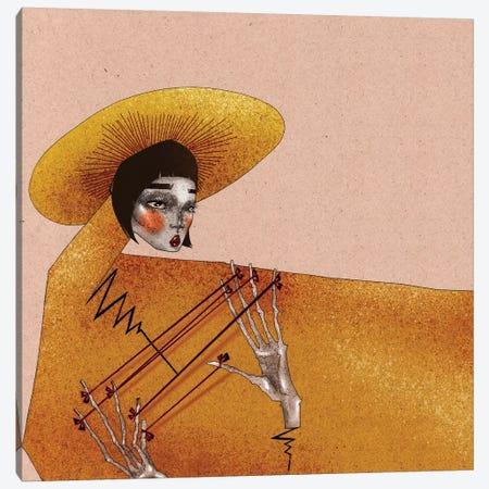 Lucky Ties Canvas Print #DVA30} by DEMÖ Canvas Art