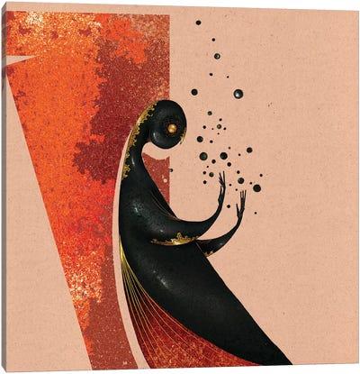 Marble Bird Canvas Art Print