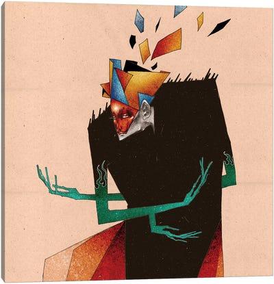 Palette Canvas Art Print