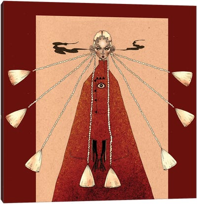 Red Priestes Canvas Art Print