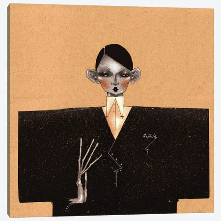 Suit Canvas Print #DVA53} by DEMÖ Canvas Art