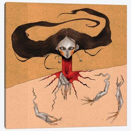 Blood Thrust Canvas Print #DVA5} by DEMÖ Canvas Artwork