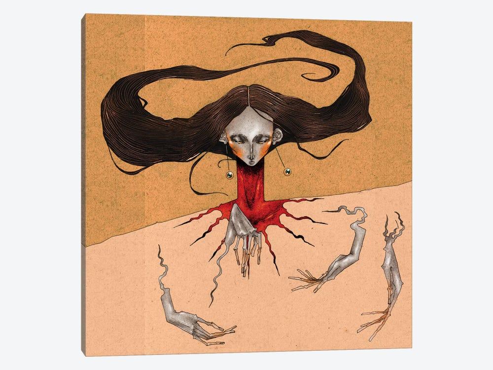 Blood Thrust by DEMÖ 1-piece Canvas Art