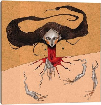 Blood Thrust Canvas Art Print