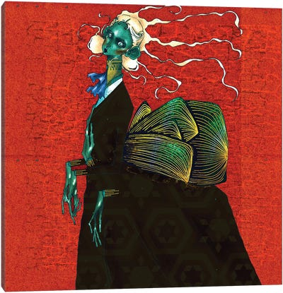 The Longing Mistress Canvas Art Print