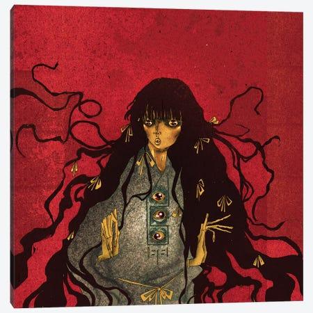 The Lost Youkai Canvas Print #DVA64} by DEMÖ Canvas Art