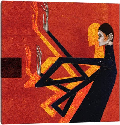 Voguer III Canvas Art Print