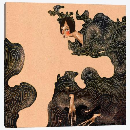 Waves 3-Piece Canvas #DVA83} by DEMÖ Art Print