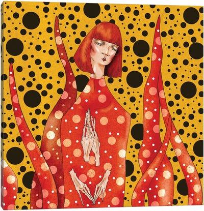 Yayoi Kusama Canvas Art Print