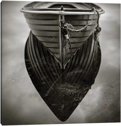 Boat Reflection Canvas Art Print
